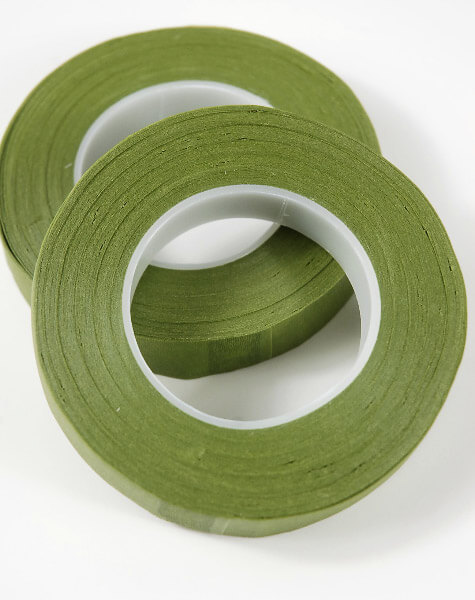 2 Atlantic Brand Green Stem Wrap 1/2 in width - 30 yard roll