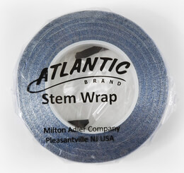 "Atlantic Brand Metallic Blue 1/2"" Floral Tape 60'"