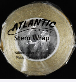 "Atlantic Brand Metallic Gold 1/2"" Floral Tape 60'"