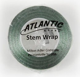 "Atlantic Brand Metallic Green 1/2"" Floral Tape 60'"