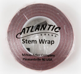 "Atlantic Brand Metallic Red 1/2"" Floral Tape 60'"