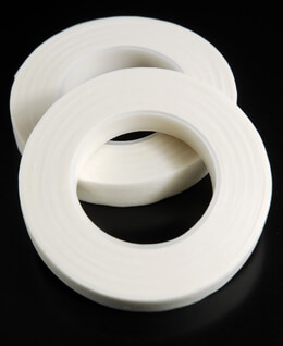 "Atlantic Brand White (2 rolls) 1/2"" Floral Tape 90'"