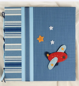 Baby's First Year by Molly West Handbound Books - Airplane
