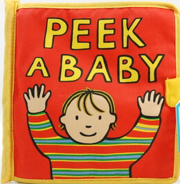 Baby Shower Gifts: My Peek a Baby- Cloth Fabric Baby Books