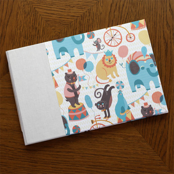 Baby Shower Guestbook Circus