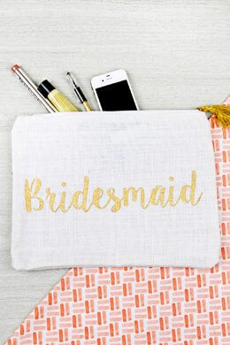 Mud Pie Bridesmaid Burlap Carry All