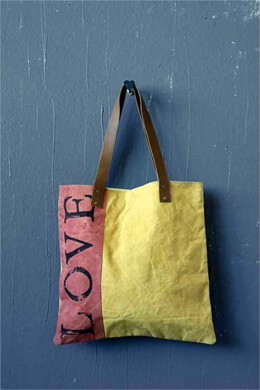 "Canvas ""LOVE"" Tote"