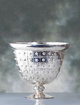 """Baleri Compote Silver 10"""" x 9"""""""