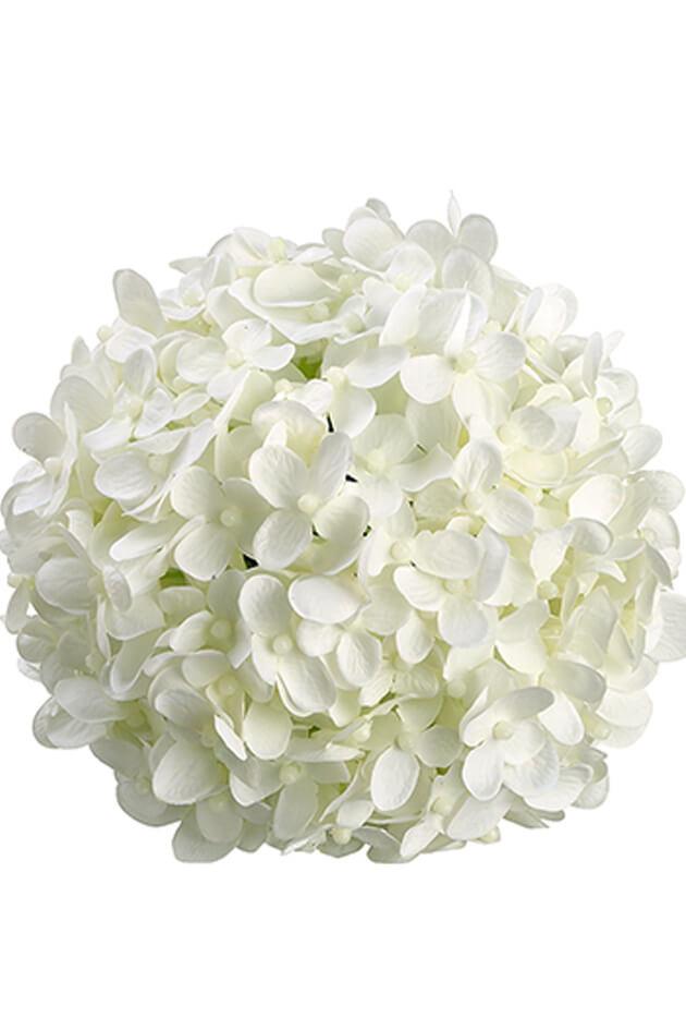 "6"" White Silk Hydrangea Balls, Hanging Decorations, Wedding Flowers"