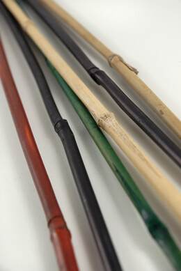 "Bamboo Poles 18"" Assorted Colors (6 pieces/bundle)"