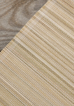 Bamboo Table Runner Ivory 72in
