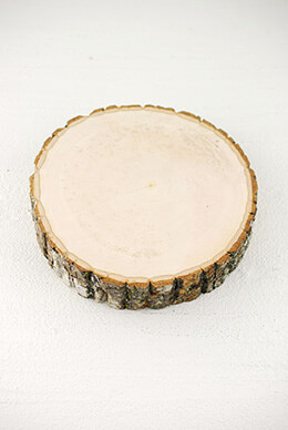 "Wood Slice  8-12"" Round 2"" Thick"