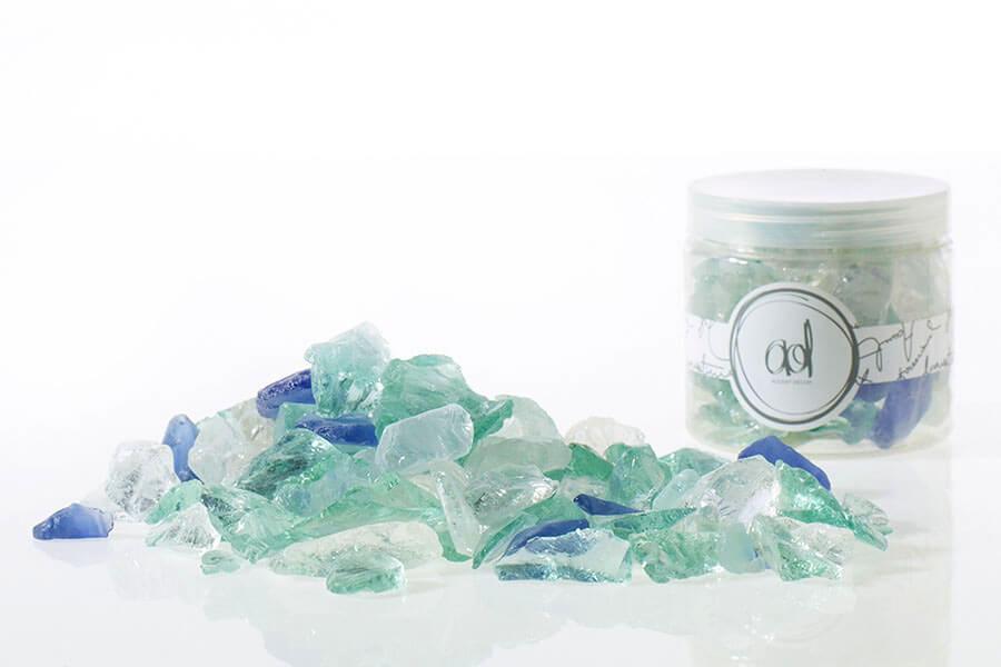 Seaglass Clear, Blue & Green 1.5lb.