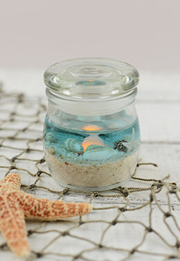 Beach Terrarium Candle 2x2.5in