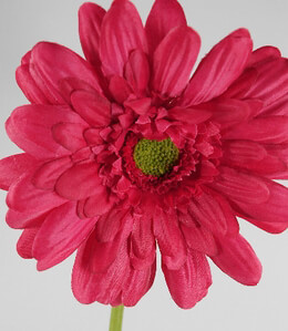 Silk Gerbera Daisy Bouquet Red (12 flowers)