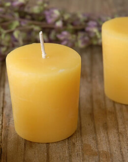 Beeswax Votives (18 candles)