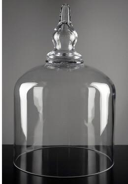 "Bell Jars Large 14"" Glass Cloche Bell Jar"