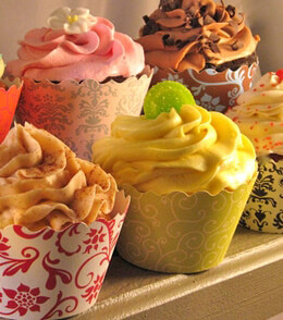 Cupcake Wrappers Assorted (Pack of 18)