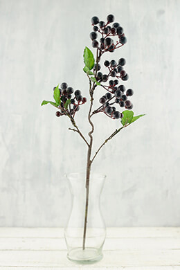 Purple Wild Berry Stem 20.5in