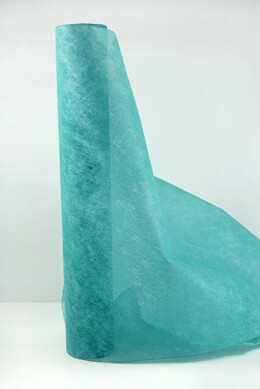 Turquoise Filato Paper Table Runner Roll 20x66 FT