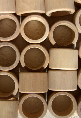 25 Wood Napkin Rings