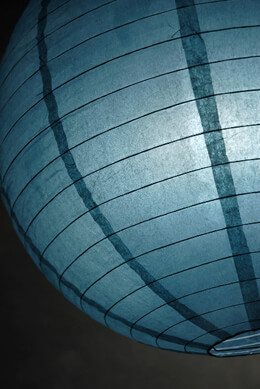 "20"" SLATE BLUE Paper Lanterns"