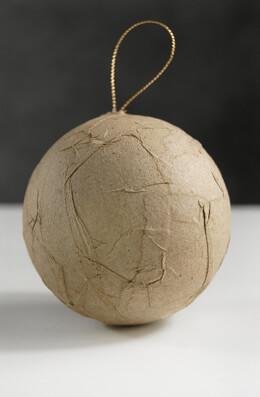 12- 3 Inch Paper Mache Balls