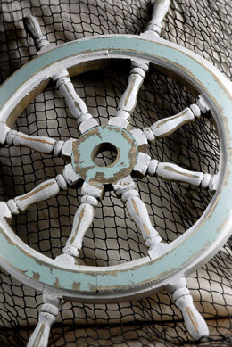 Ship Wheel Decor