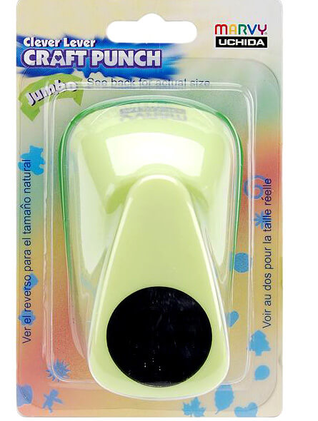 Paper Punches  Clever Lever Jumbo Circle Punch 1in