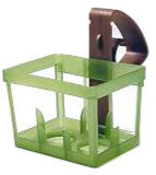 Pew Baskets with Clips 2.5in (Pack of 16)