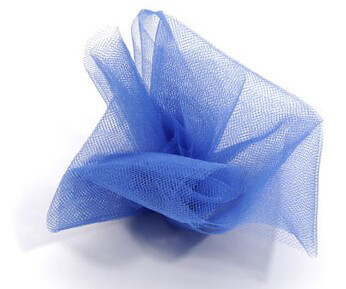Royal Blue Tulle Netting 6in wide (25 yards/ spool)