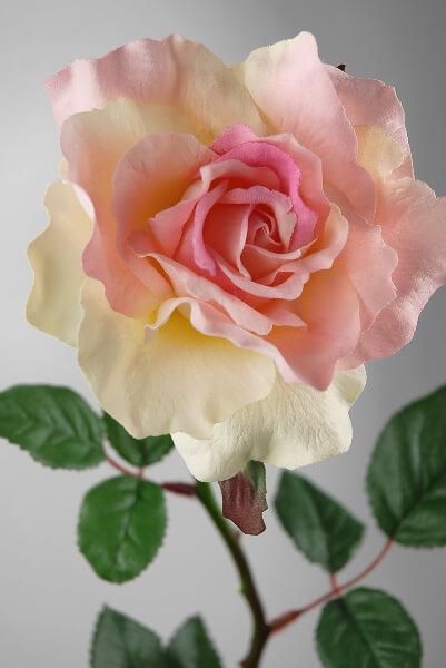 Silk Roses Pink 27in