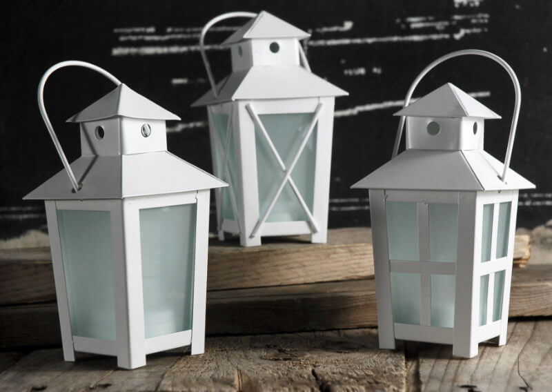 Tiny Lanterns Battery Operated | Pack of 12