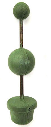 Topiary Tree Forms Floral Foam Double Ball  (3in & 5in Ball ) Topiary Trees 21in