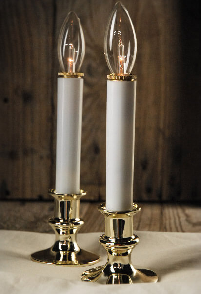 Battery Operated Window Candle Lights (Set of 2)