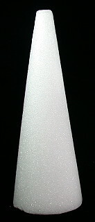 Styrofoam Cone 12in