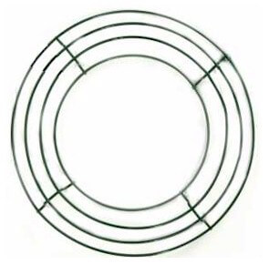12in Wire Wreath Frame Boxed Frames (Pack of 10)