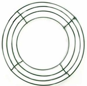 Box Wire Wreath Frames 14in (Pack of 10)