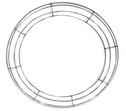 Box Wire Wreath Frames 18in (Pack of 10)