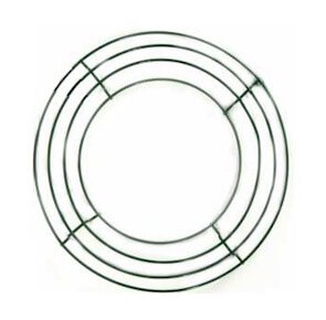 8in Wire Wreath Frames  Boxed Style (pack of 10)