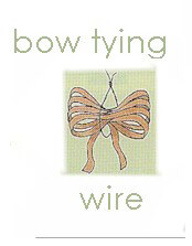 Bright Wire: Bow Tying Wire 26 Gauge (600 pieces) $7.20