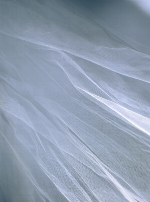 "72"" White Tulle Netting 50yds (.62 / yd)"
