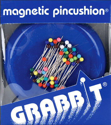 Grabbit Magnetic Pin Cushion  & Pins