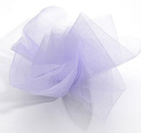 Lavender Tulle Netting 6in wide (25 yards/ spool)