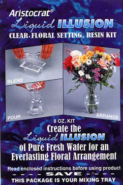 Liquid Illusion Floral Setting Resin Kit 8 oz