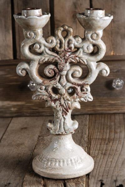 Ceramic Taper Candle Holder