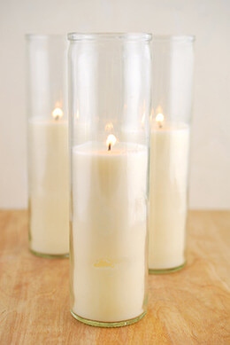 3 Loft Jar Candles 8 in - 90hr Burn - cotton wicks