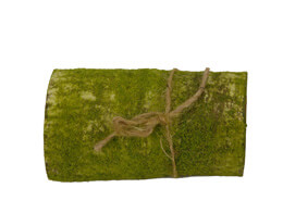 "Birch Bark Wrap with Moss Artificial 4"" x 24"""