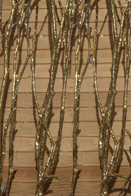 Gold Birch Branches 4-5 Branches