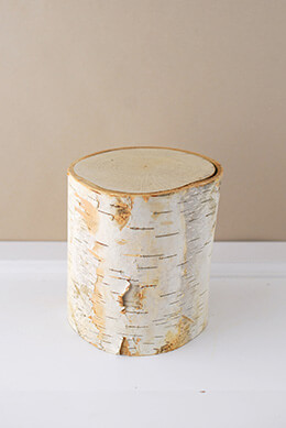 Birch Pillar 5in